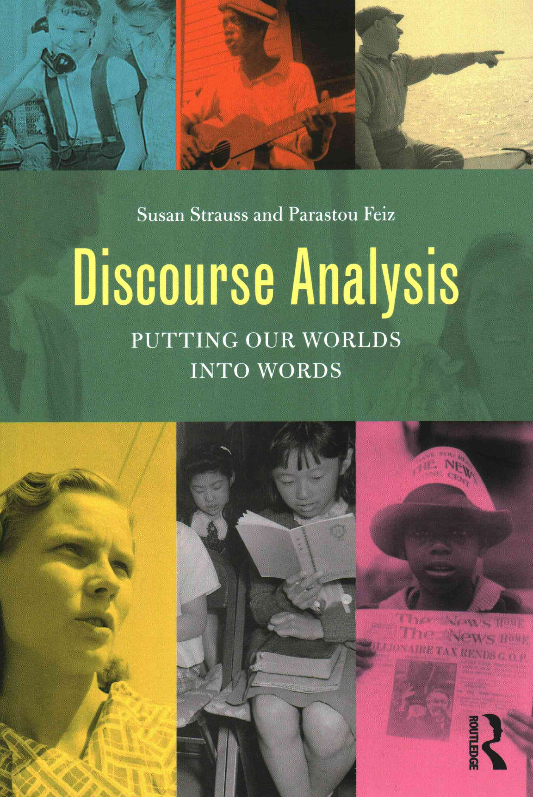 Discourse Analysis By Strauss, Susan/ Feiz, Parastou